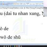 Giáo trình giảng dạy tiếng Trung thương mại Bài 12 trung tâm tiếng Trung thầy Vũ tphcm